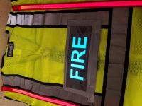 FIRE Illuminated Safety Vest With ID Panel